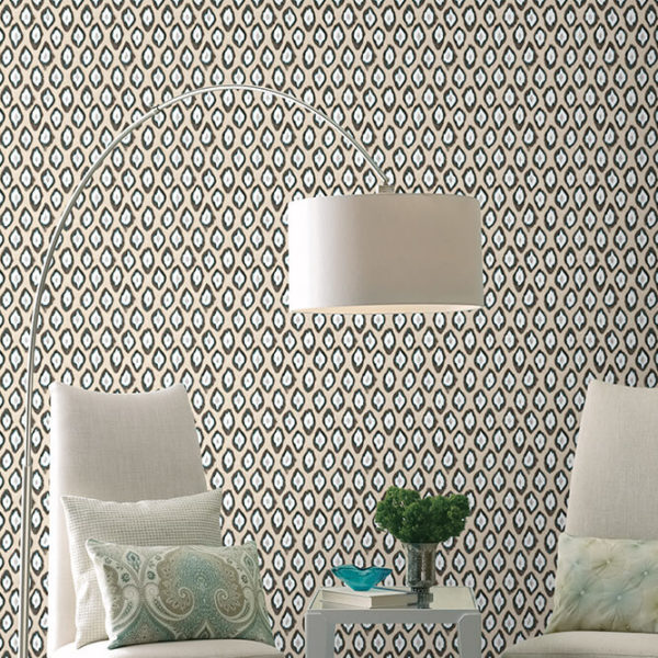 patterned-wallpaper for walls in india